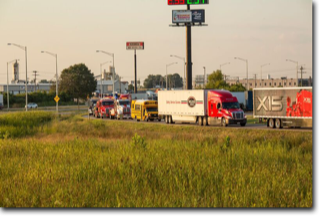Worlds Largest Truck Convoy for Special Olympics