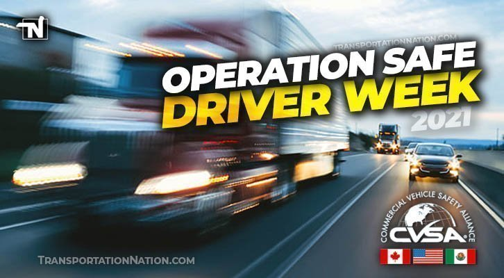 Operation Safe Driver Week July 11th-17th 2021