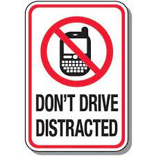 No Cell Phones While Driving!