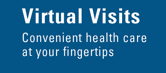 Did you know BCBS offers virtual doctor visits?